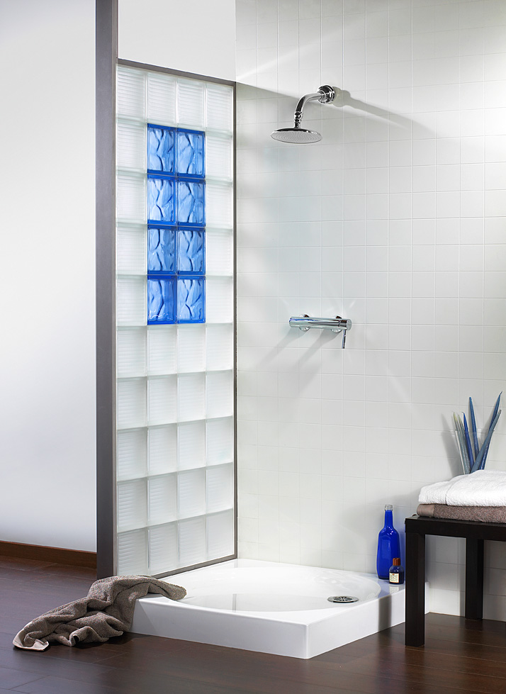 modele douche brique de verre good excellente briques verres mur brique de verre u chaios. Black Bedroom Furniture Sets. Home Design Ideas