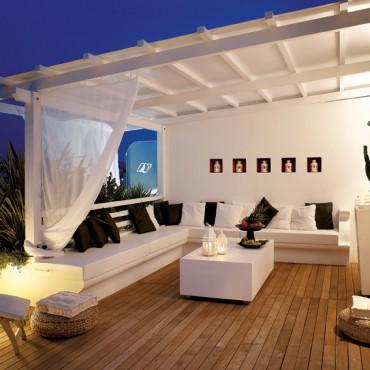 OriginalParquet pour aménager le sols des terrasses extérieurs
