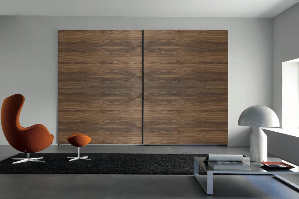 Dressing sur-mesure - portes bois
