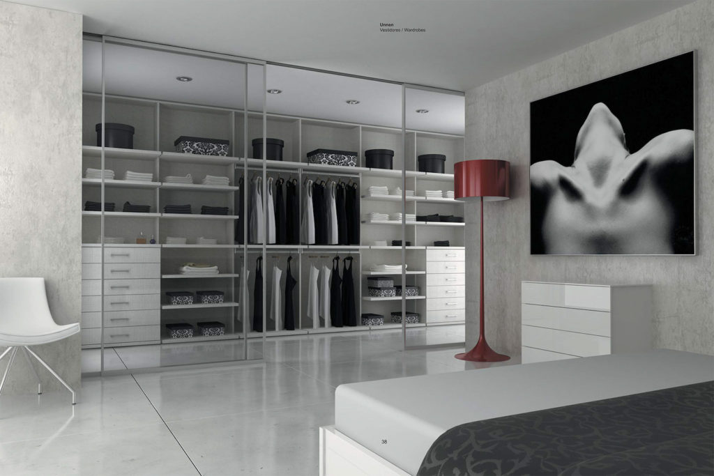 Dressing design portes en verre sur-mesure